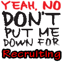 don t put me down for recruiting - TLC WHYS GUYS Team Build